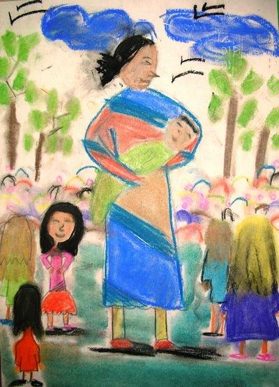1º Premio dibujo 9-12 años
