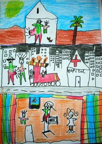 2º Premio dibujo 5-8 años
