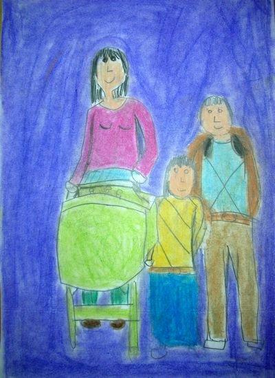 2º Premio dibujo 9-12 años