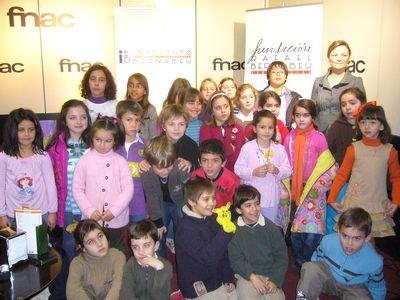 El concurso infantil de la Fundación Rafael Bernabeu cierra su primera edición con más de 500 trabajos presentados por niños de Alicante y Murcia