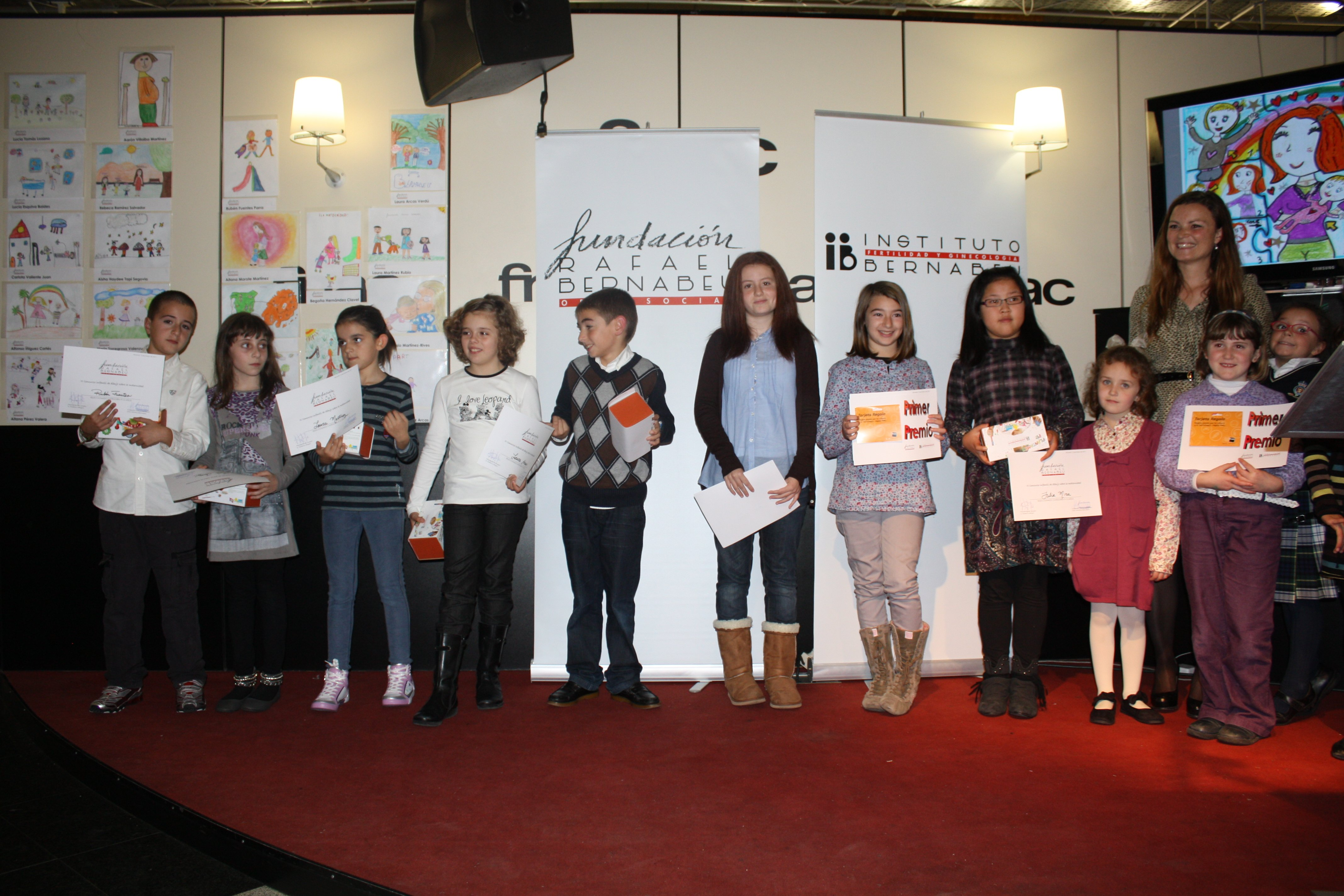 3rd Annual Children's Drawing Competition on Motherhood Award Ceremony