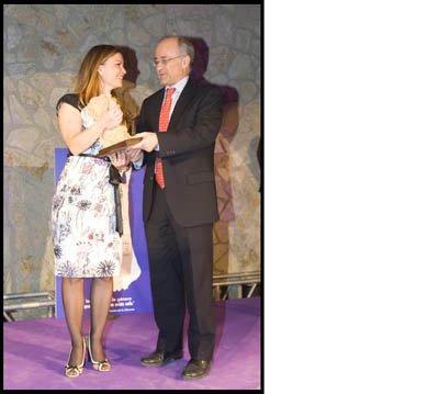 Premio del Día de la Mujer Trabajadora para Sómnica Bernabeu