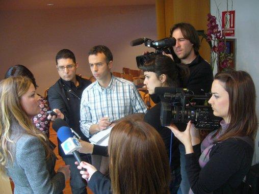 Sómnica con los periodistas