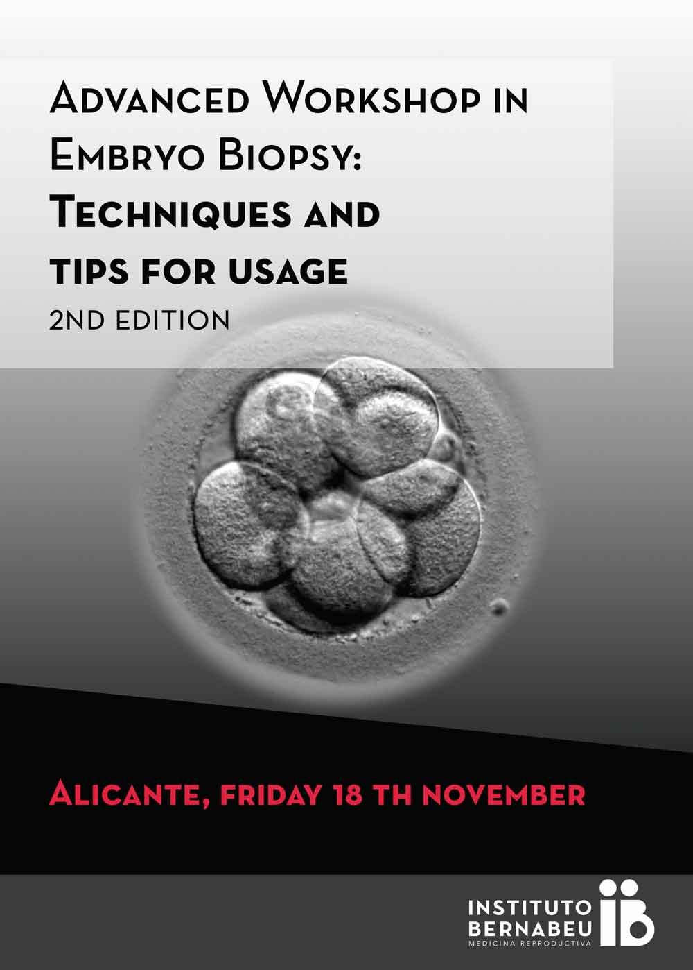 Instituto Bernabeu Workshop in embryo biopsy