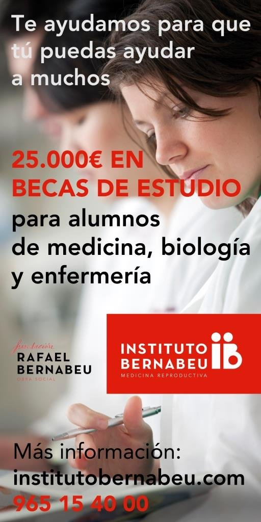 Instituto Bernabeu. Programa de Becas