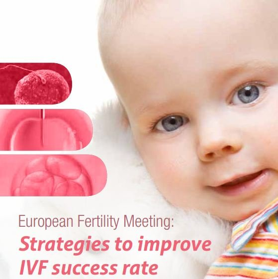 "Cartel del ""European Fertility Meeting: Strategies to improve IVF success rate"""