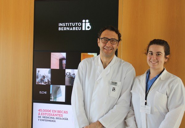 Dr. Jorge Ten and Carlotta Girardo.