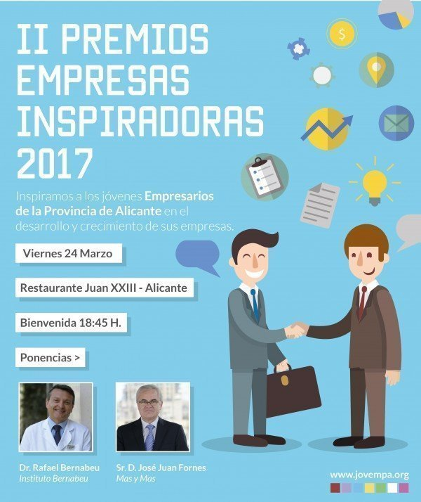 2nd edition of the 2017 Inspirational Business Awards