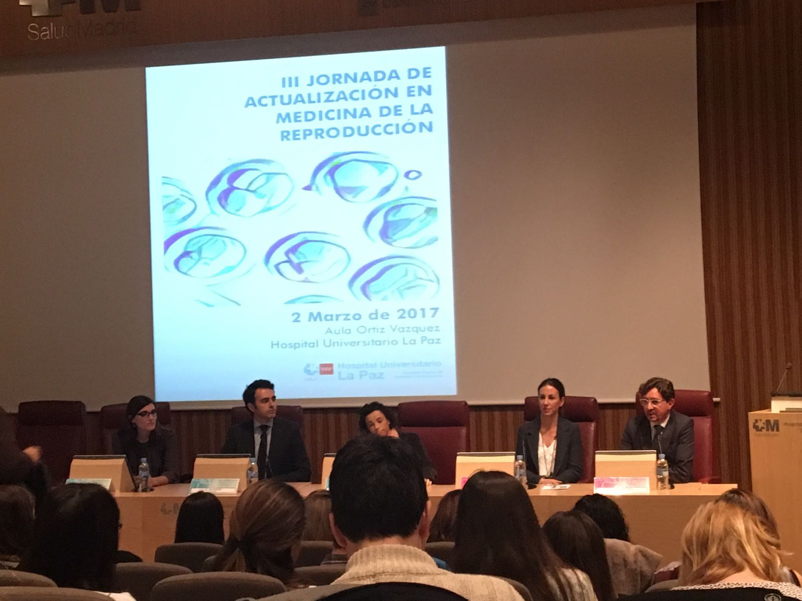 Instituto Bernabeu participation in the 3rd Edition of the Reproductive Medicine Event organised by La Paz Hospital in Madrid