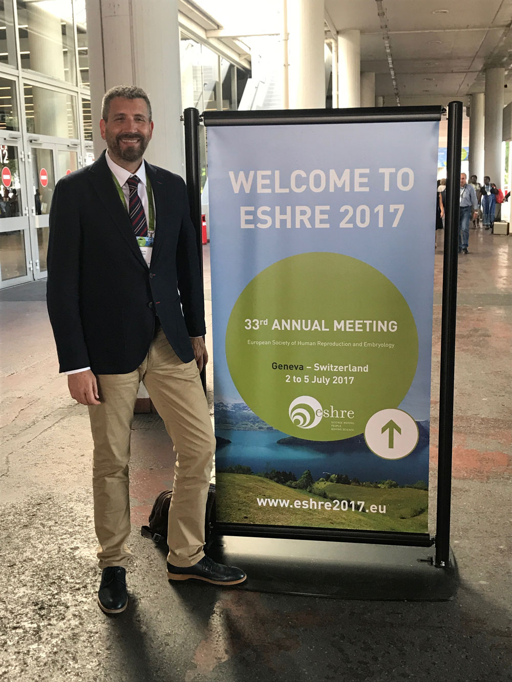 Doktor Joaquín Llácer er valgt som representant for spanske leger i European Society of Human Reproduction and Embryology (ESHRE) frem til 2020