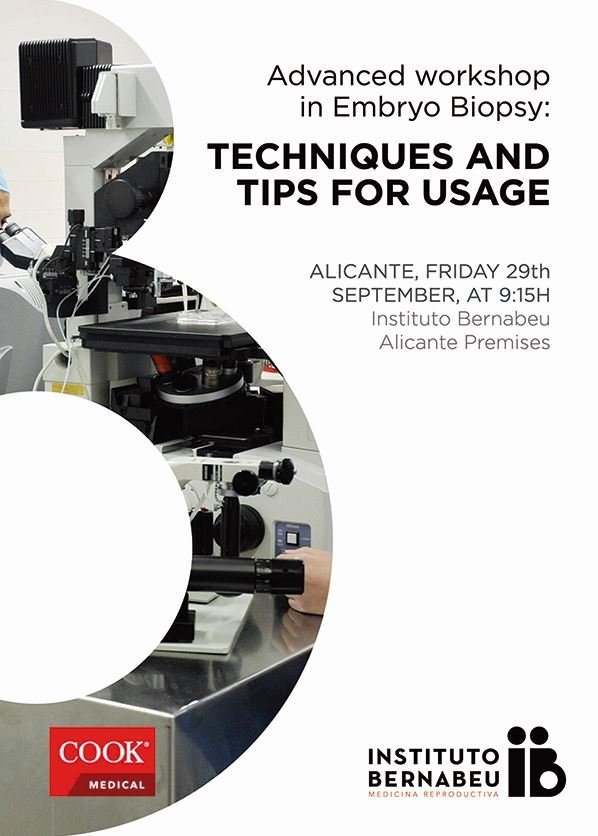 Advances in embryo biopsy techniques: IB workshop for biologists