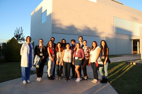 Students from the Miguel Hernández University Pharmacy and Dra Ana Fabregat