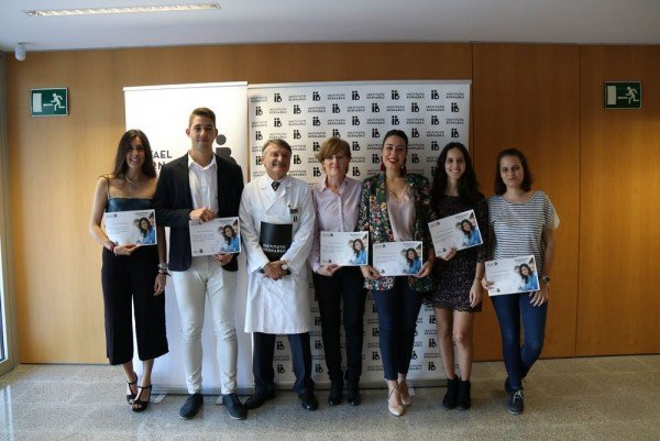 The Rafael Bernabeu Foundation gives six university students a helping hand by granting 15,000 euros in scholarships