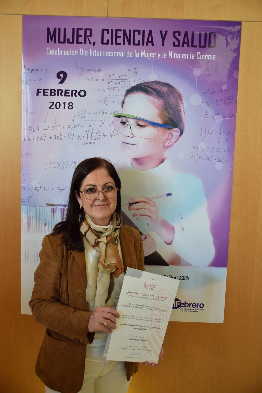 Reconocimiento de la Generalitat a la doctora Pino Navarro por su investigación sobre Criterios diagnósticos de la diabetes gestacional