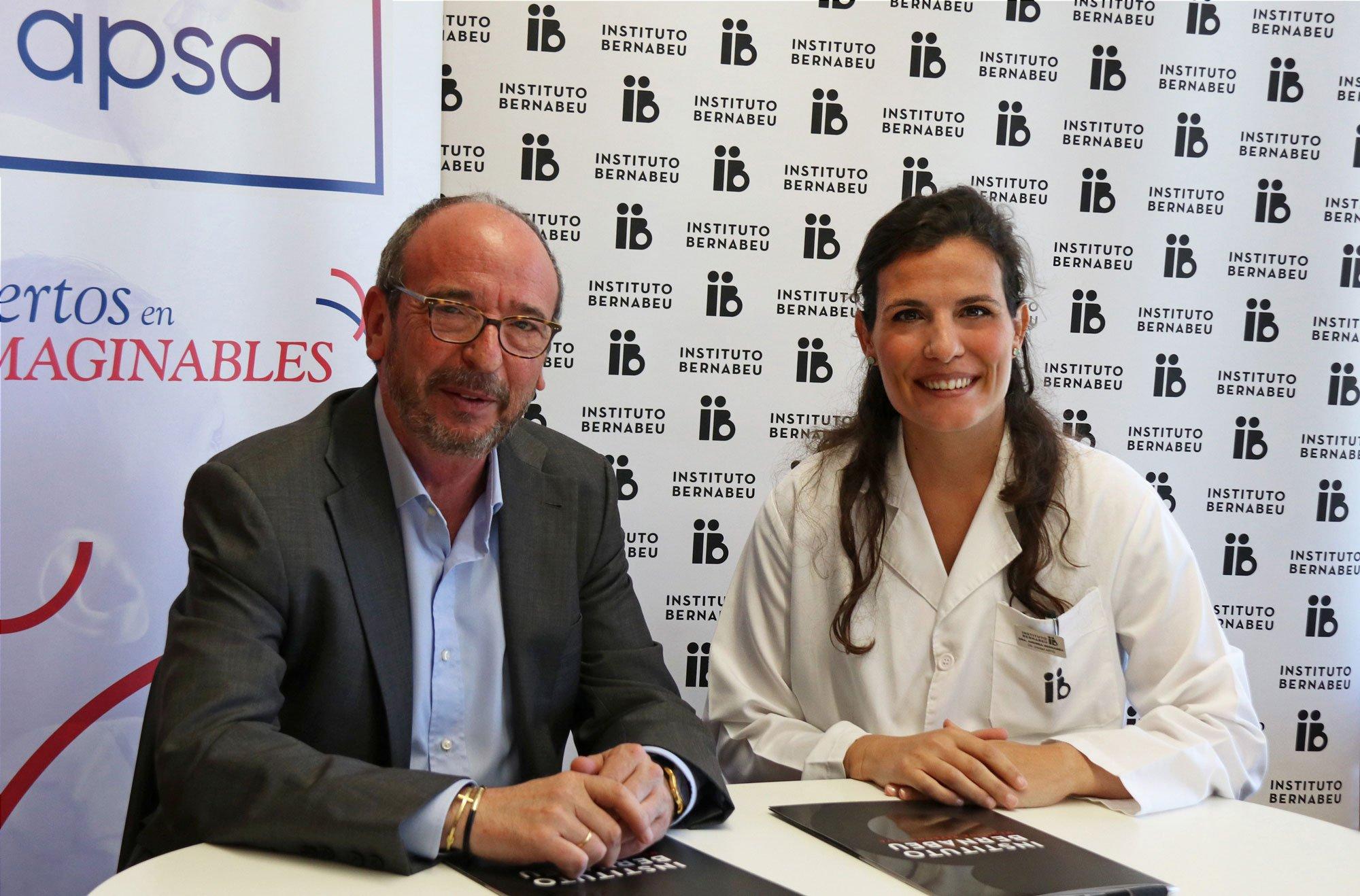 La Fundación Rafael Bernabeu renueva su convenio con Apsa y ofrece la primera visita de asesoramiento genético gratuita