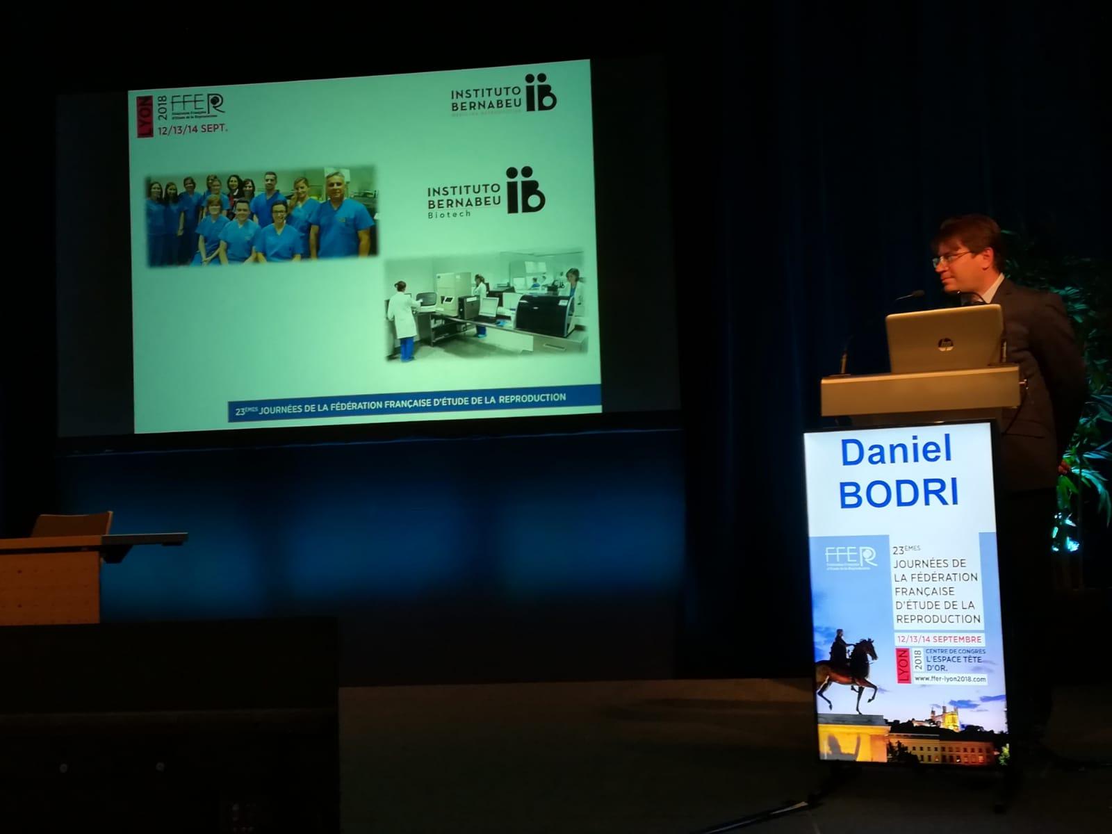 Instituto Bernabeu presenta tres investigaciones científicas al congreso de infertilidad FFER de Francia
