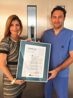 New UNE 179007 assisted reproduction quality standard. Instituto Bernabeu is the first clinic in the Autonomous Community of Valencia and Castilla la Mancha, Spain, to be awarded this standard.