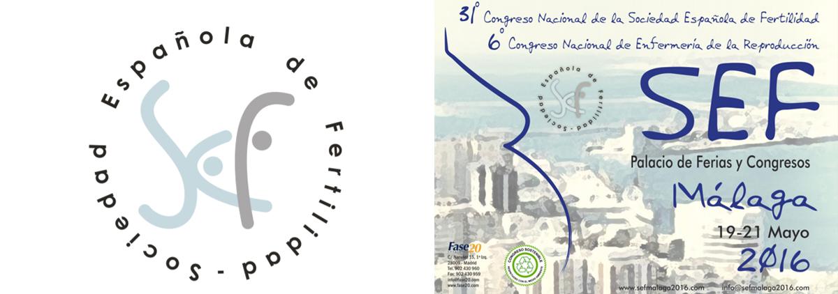 XXXI Congreso Nacional de la Sociedad Española de Fertilidad (SEF). Málaga. Mayo 2016.