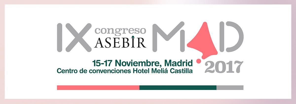 IX Congreso ASEBIR Madrid, España. Noviembre 2017