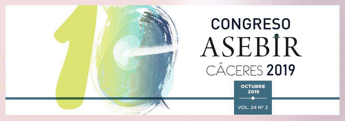 X Congreso ASEBIR. San Sebastián. Cáceres 2019.