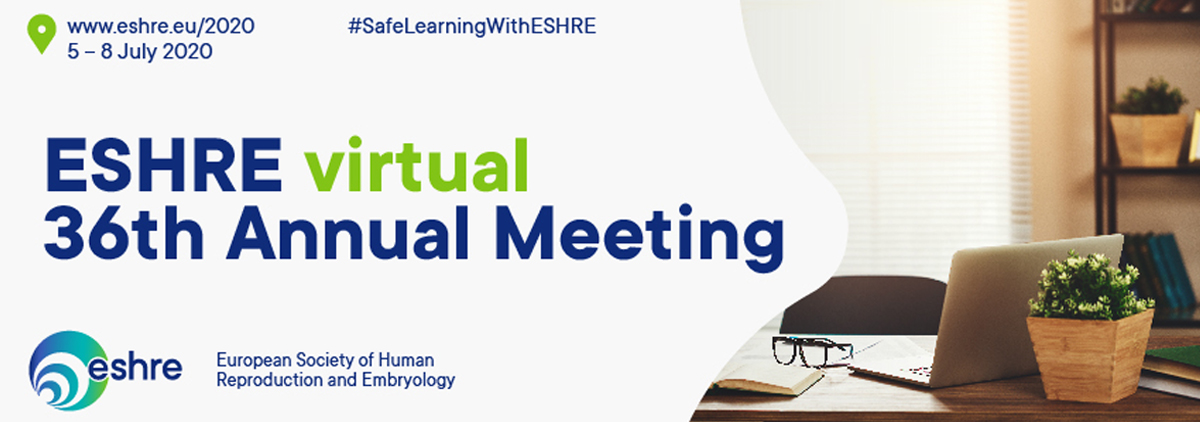 36th Virtual Annual Meeting of the European Society of Human Reproduction & Embryology. ESHRE. Junio 2020