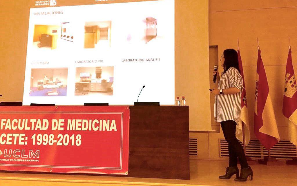 Instituto Bernabeu in Albacete delivers a seminar on embryology for students of Medicine at Castilla La Mancha University