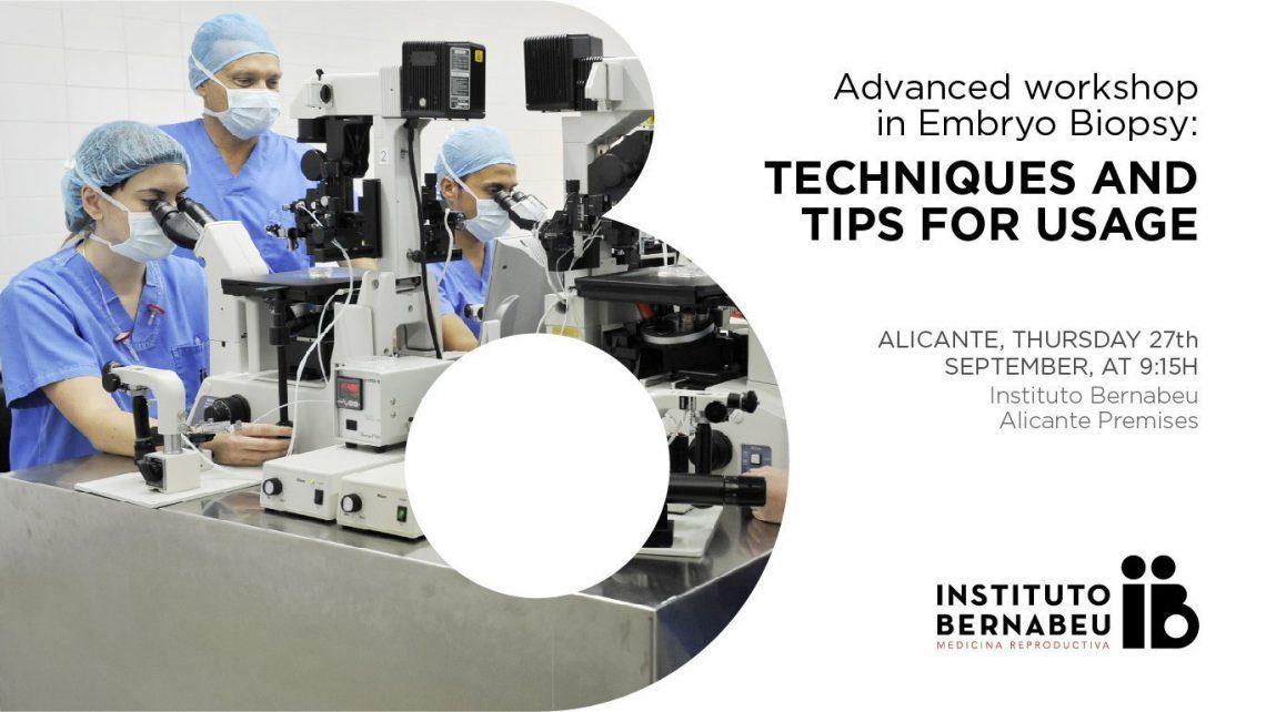 Embriólogos europeos se forman en las últimas técnicas de biopsia embrionaria en un workshop del Instituto Bernabeu