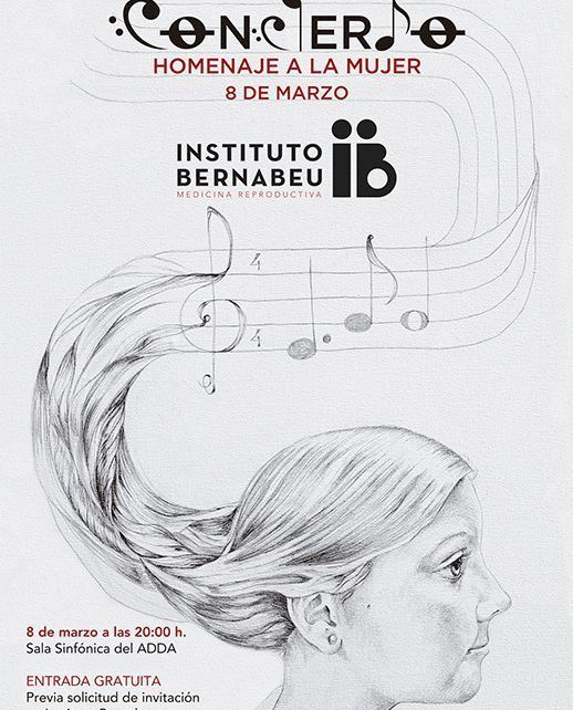 Instituto Bernabeu invites you to the concert in honour of women to be held on 8th march