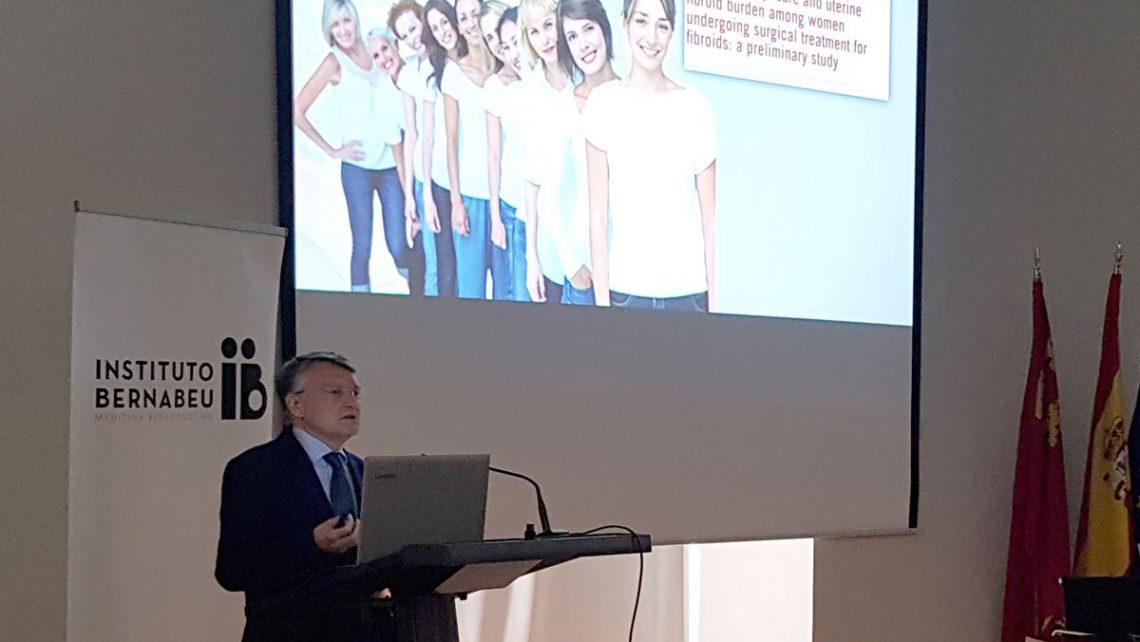 Instituto Bernabeu reúne en Cartagena a especialistas de la salud para abordar nuevos tratamientos de los miomas uterinos