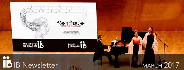New IB Newsletter: Full house at the concert in honour of women