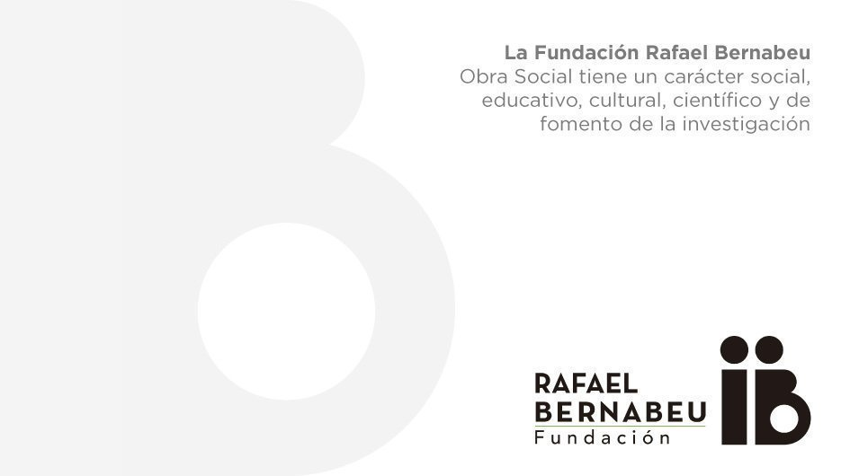 La Fundación Rafael Bernabeu destina cerca de 100.000 euros a obras sociales en 2018