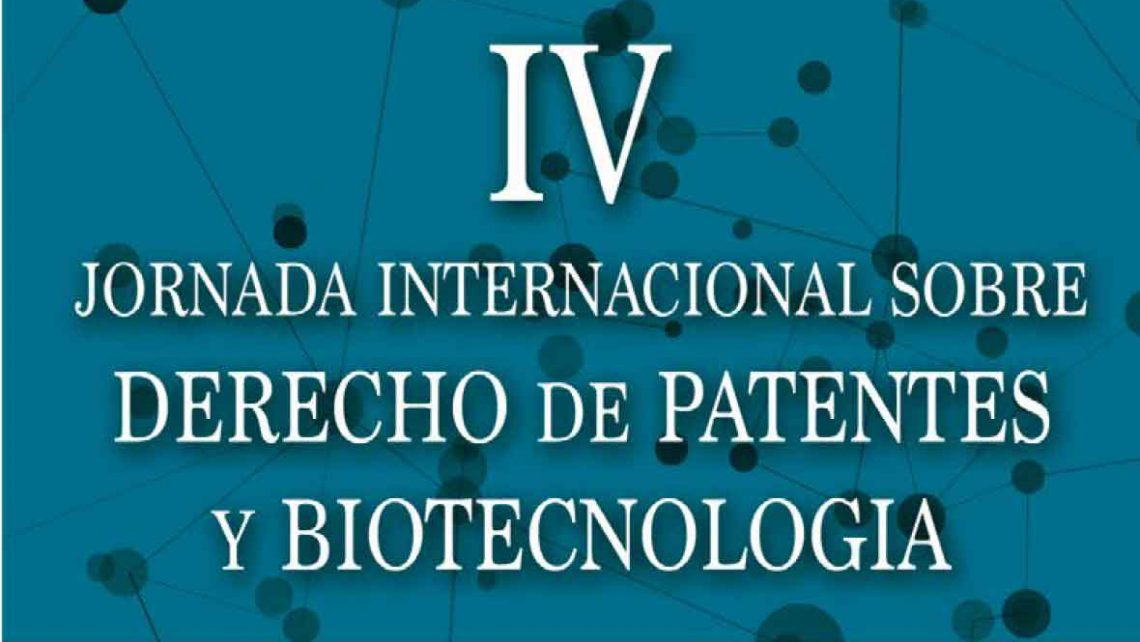 Instituto Bernabeu participation in the IV edition of the University of Alicante's Forum on Patent Rights and Biotechnology