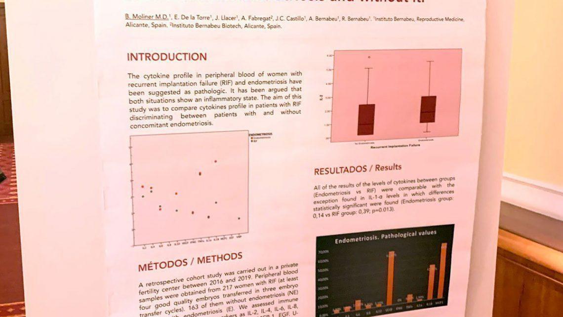 Instituto Bernabeu presenta en el Campus ESHRE de Milán una investigación sobre el papel de las citoquinas en el fallo de implantación