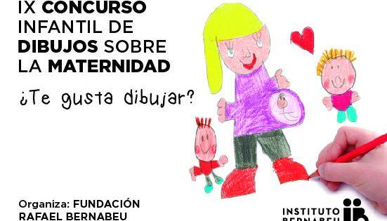La Fundación Rafael Bernabeu invita a los niños a dibujar cómo ven la maternidad