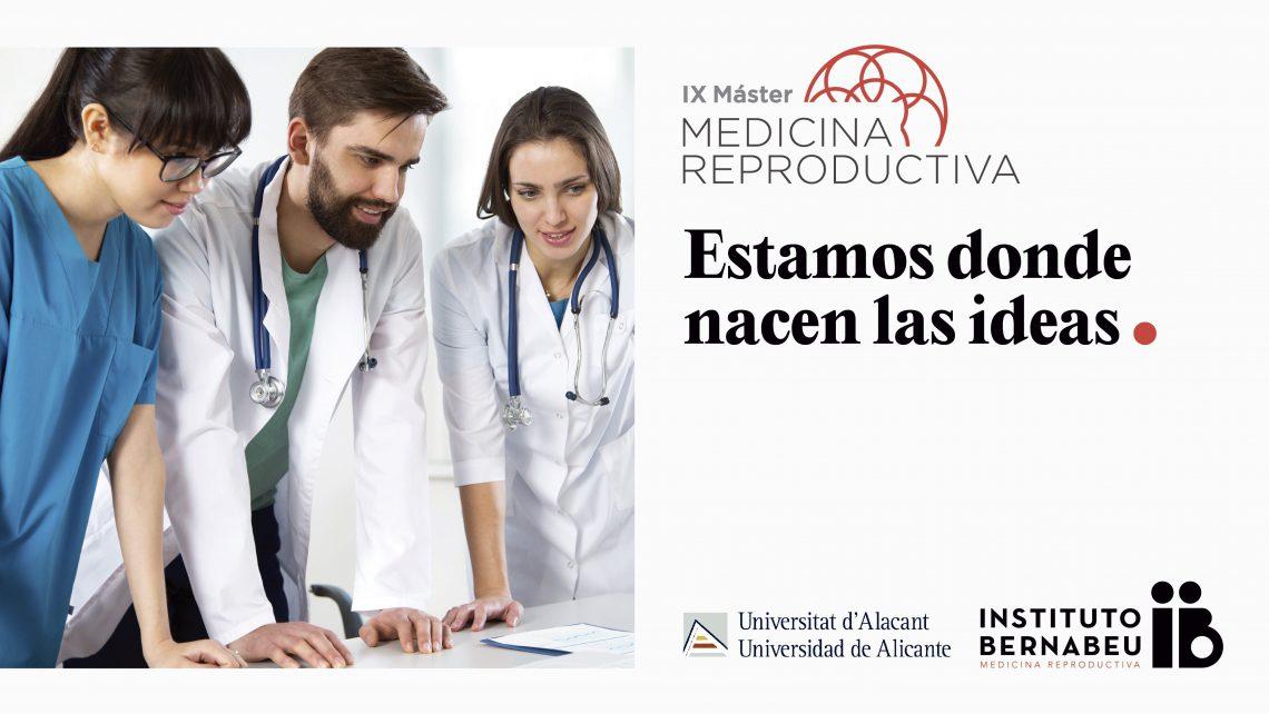 Le Dr Rafael Bernabeu offre la classe de maître d'ouverture du IX Master en Médecine de la Reproduction de l'UA et de l'Instituto Bernabeu