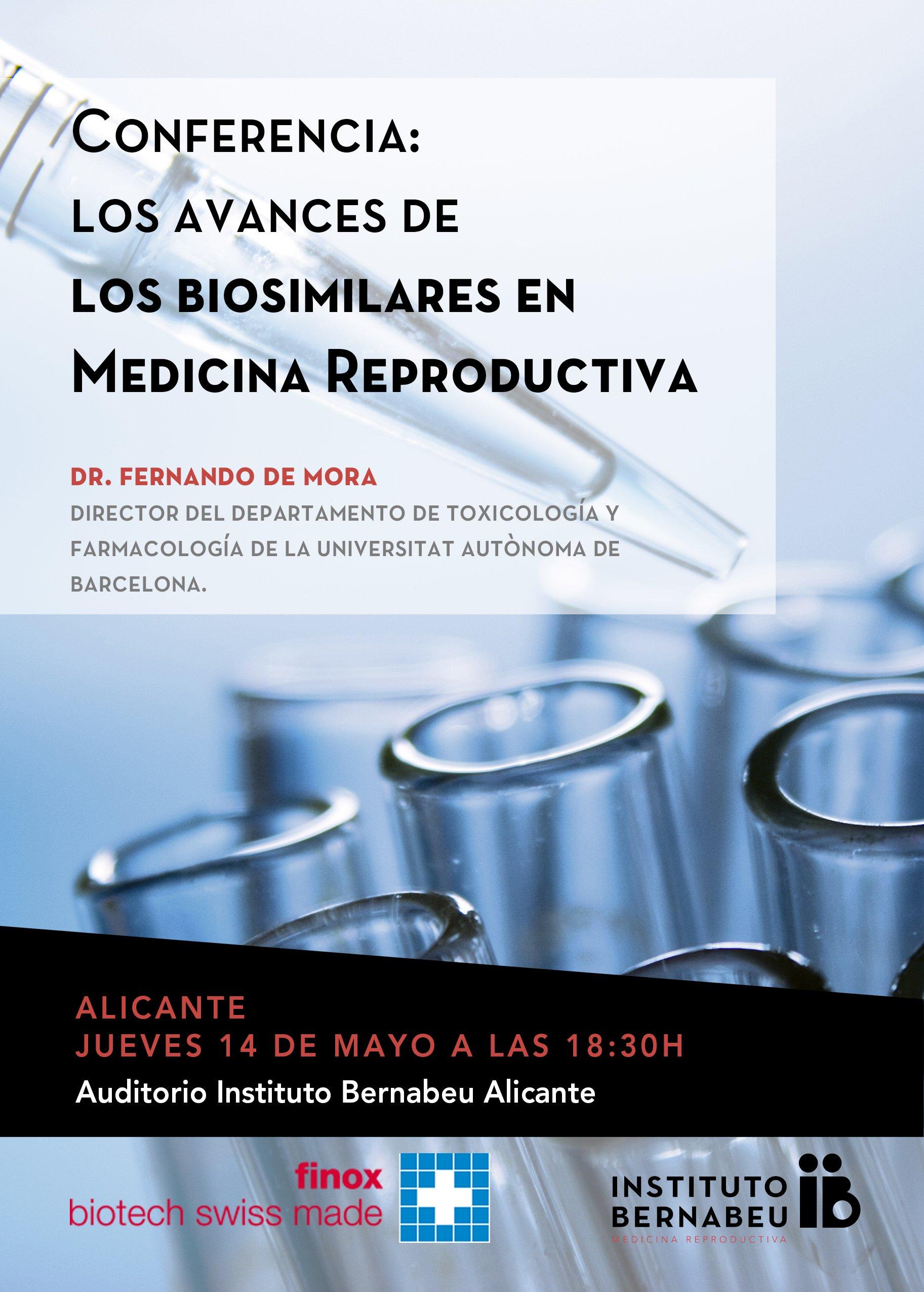 Conferencia: Los avances de los biosimilares en Medicina Reproductiva