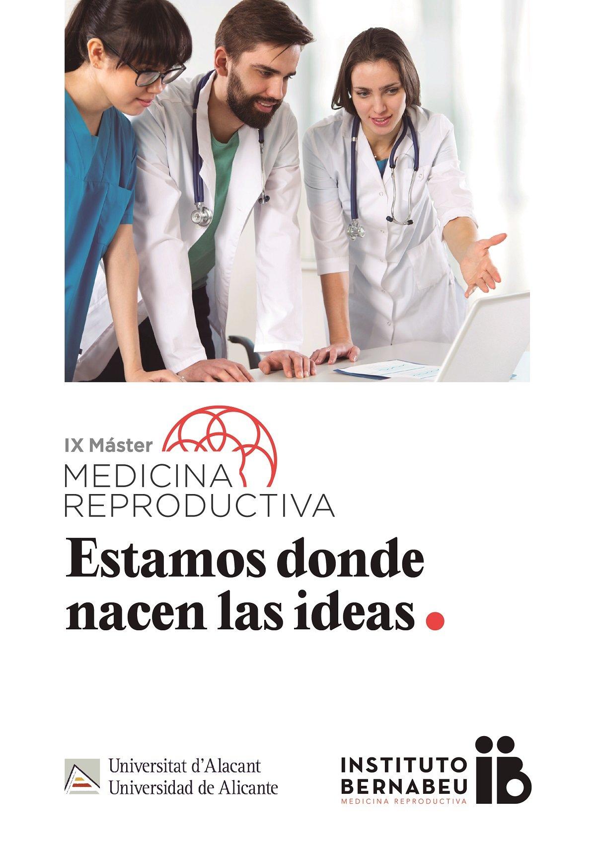 IX Máster en Medicina Reproductiva Universidad de Alicante – Instituto Bernabeu