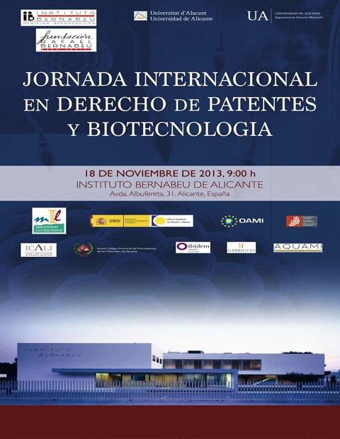 Jornada Internacional en Derecho de Patentes y Biotecnología