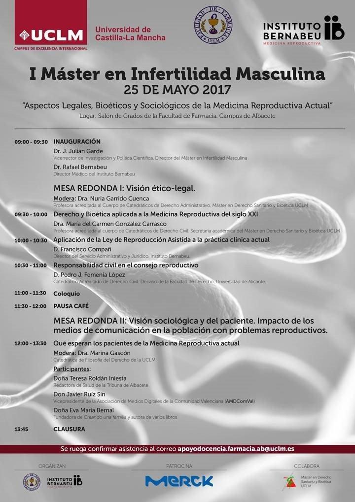 Jornada sobre Aspectos Legales, Biotéticos y Sociológicos de la Medicina Reproductiva Actual