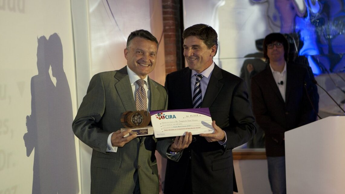 ICIRA RESEARCH AWARD FOR INSTITUTO BERNABEU AND THE UNIVERSITY OF ALICANTE