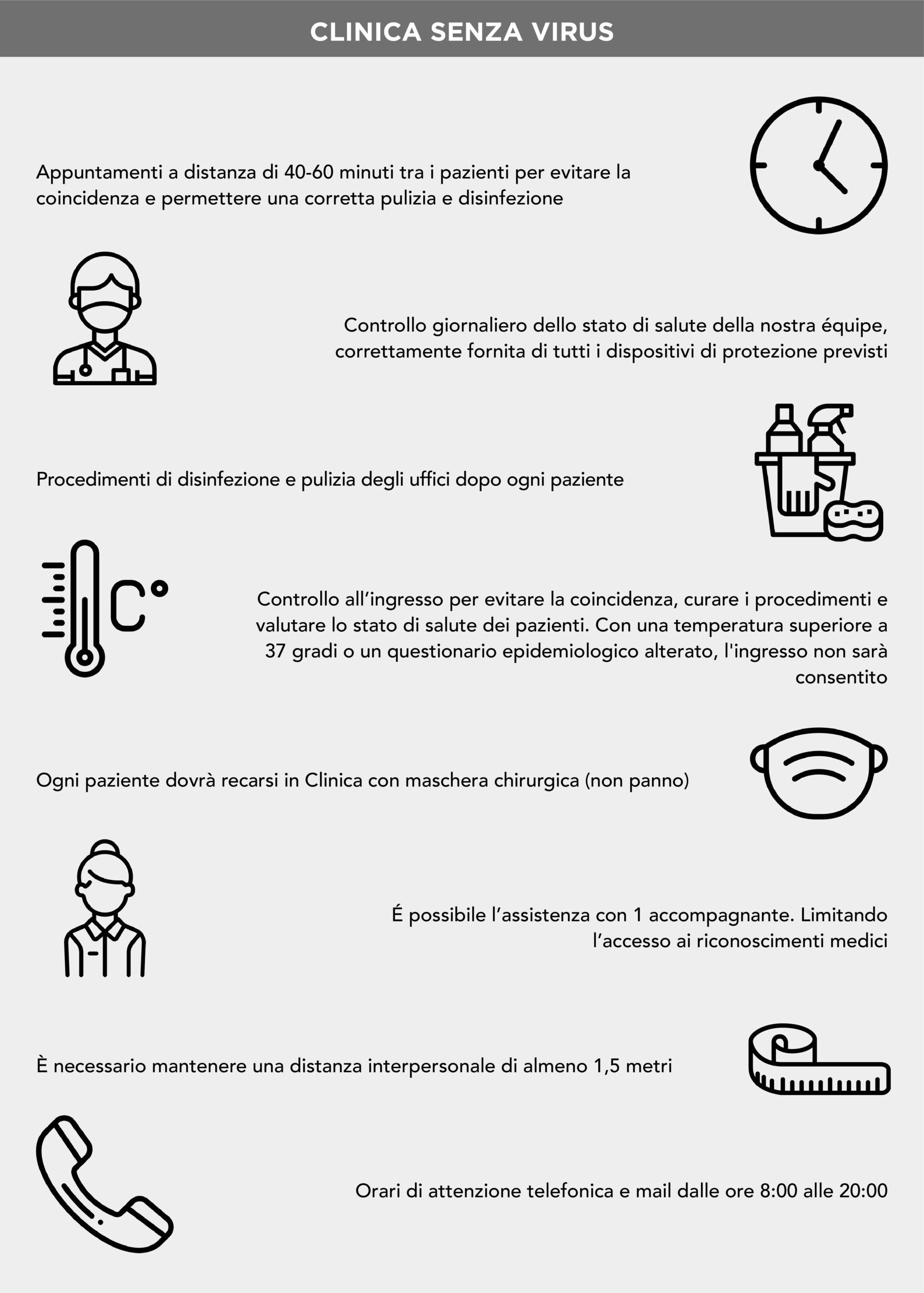 Clinica senza virus Instituto Bernabeu