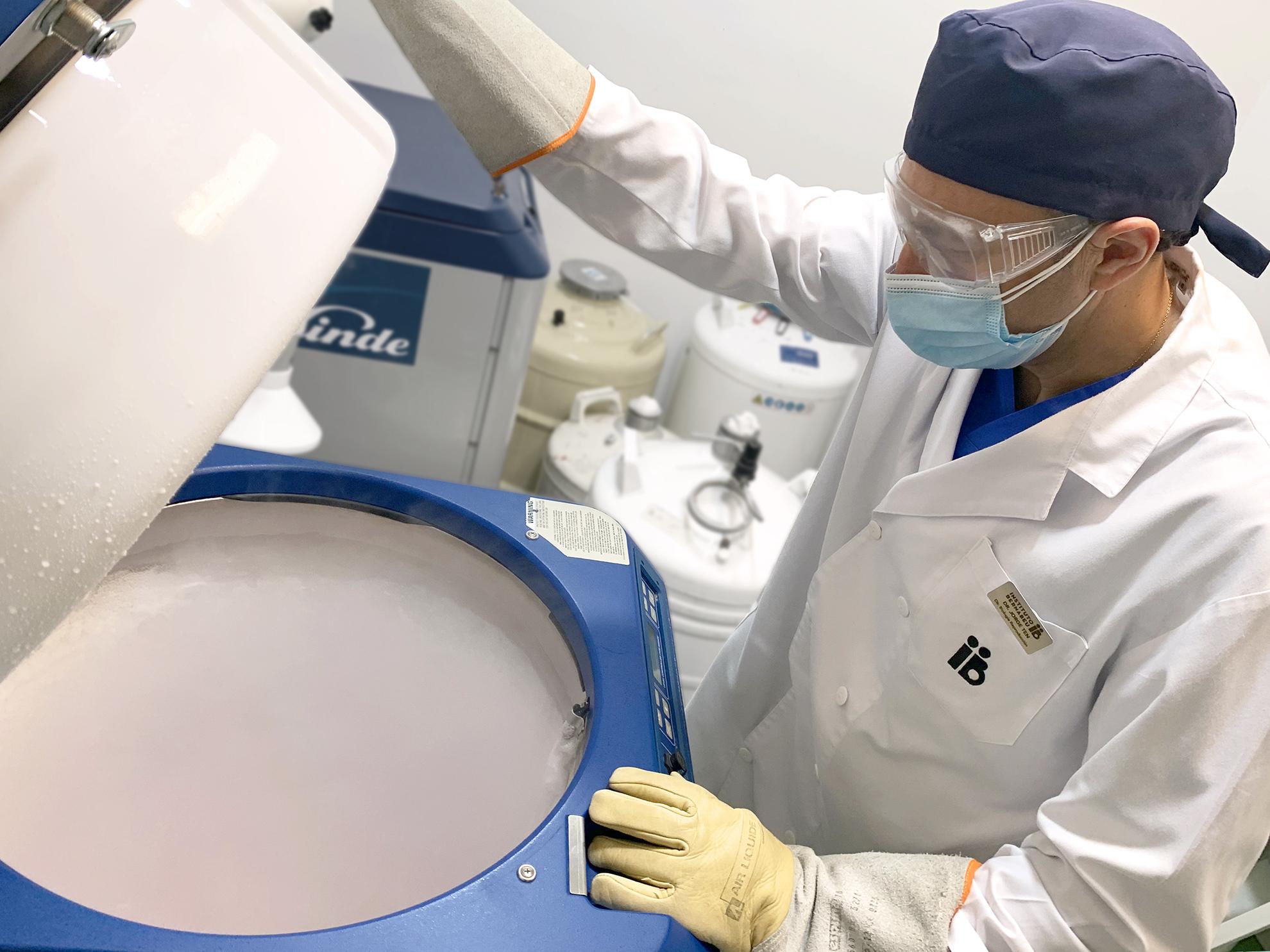 Alles was Sie über die Vitrifizierung von Embryonen wissen müssen - Instituto Bernabeu
