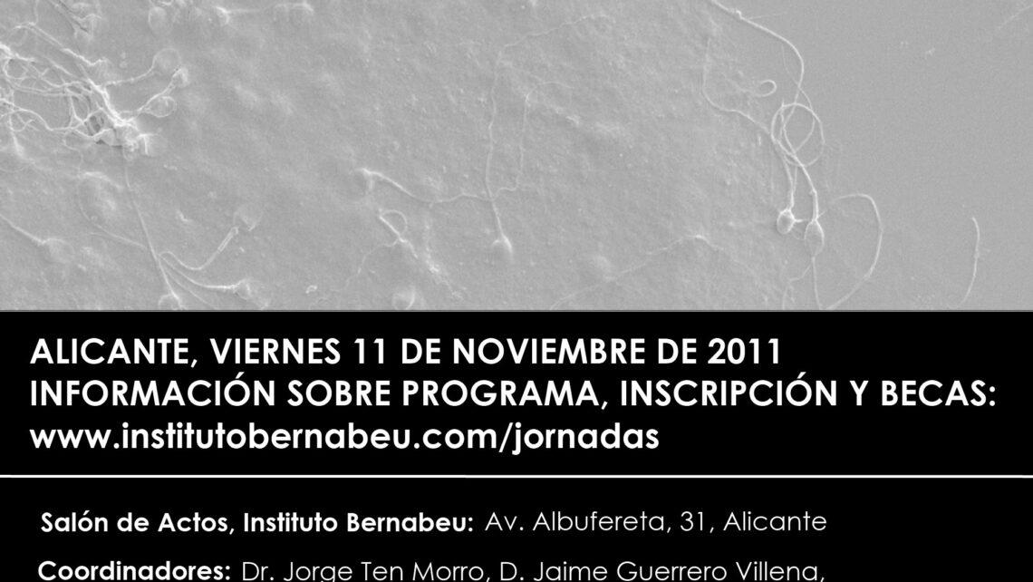 """""""I Jornada Internacional sobre nuevos avances en técnicas de Reproducción Asistida"""" organizada por el Instituto Bernabeu"""