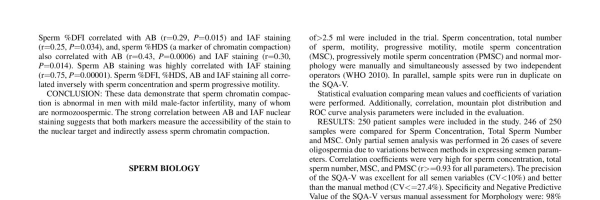 Sperm deoxyribonucleic acid fragmentation level, as measured by tunel test, is not related with the IVF outcome in good prognosis women.