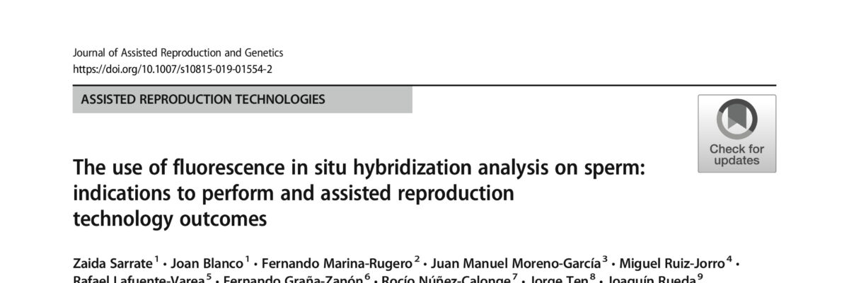 The use of fluorescence in situ hybridization analysis on sperm: indications to perform and assisted reproduction technology outcomes