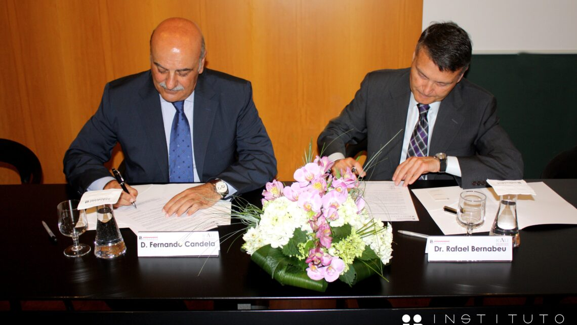 Agreement signed between the Alicante Bar Association and Instituto Bernabeu