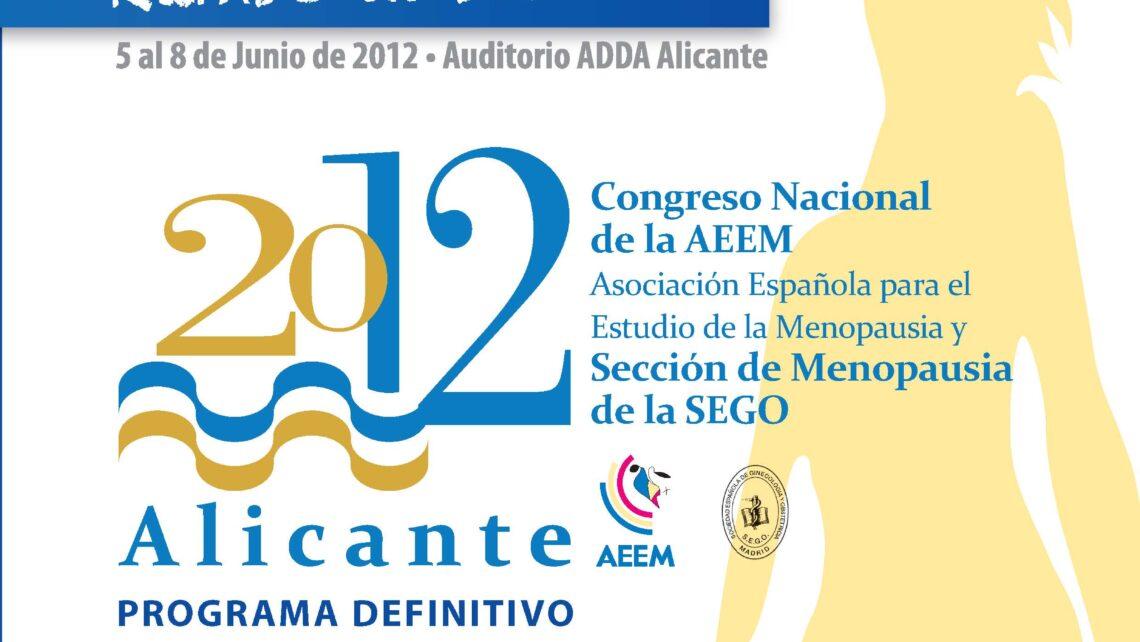 XII Congreso Nacional de la Asociación Española para el Estudio de la Menopausia