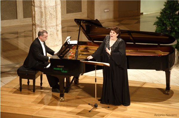 Women's Month events. Concert by soprano Ana María Sánchez