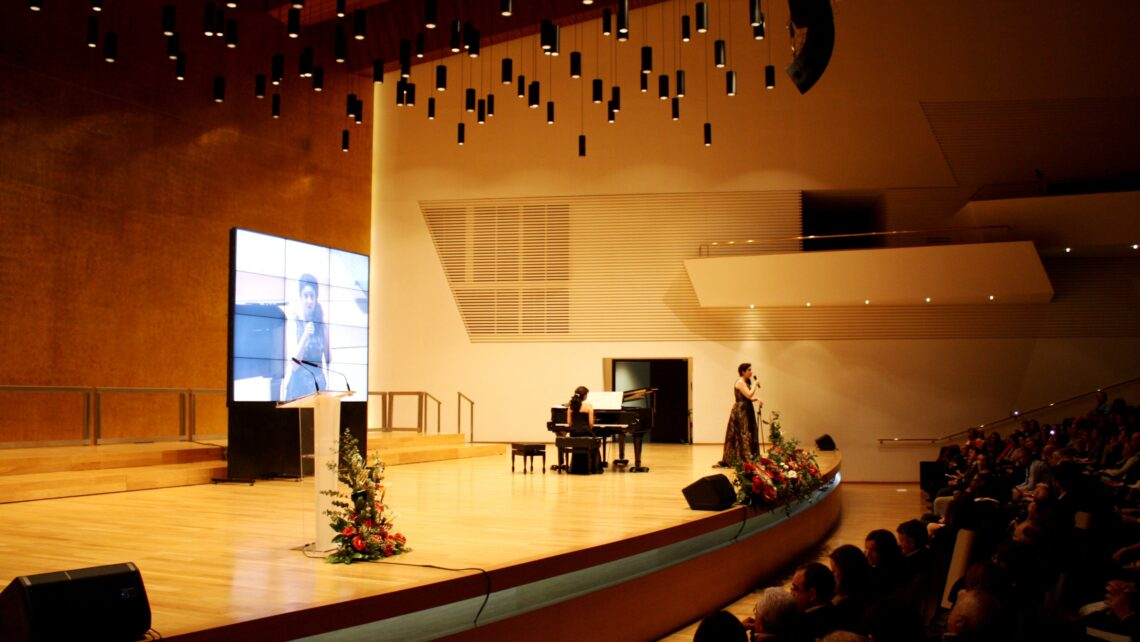 Concert tribute to women organized by the Rafael Bernabeu Charitable Foundation
