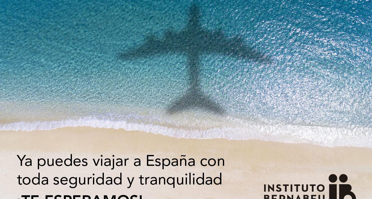 Ya puedes viajar a España con toda seguridad y tranquilidad ¡Te esperamos!